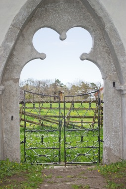 church gate