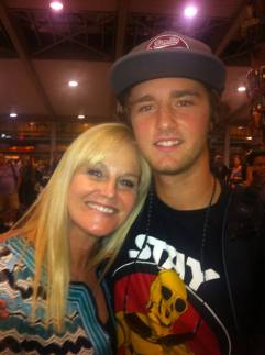 Josh back from Alaska