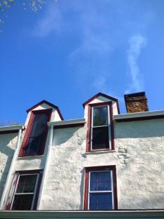 Windows and sky